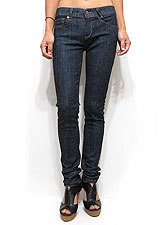Denim042 Solid Tone Skinny Denim/Denim