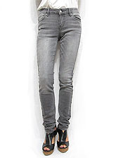 Denim046 Monotone Skinny Denim/Grey