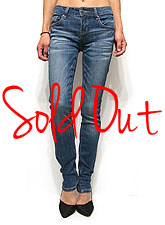 Denim064 Low-Rise Skinny Denim/Washed Denim