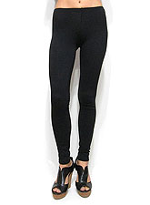 Pants159 Simply Basic Leggings/ Black