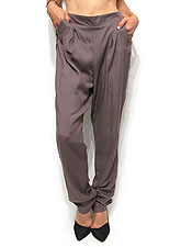 Pants225 Comfy Relaxed Tapered Pants/Mauve