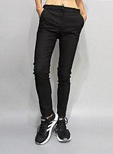 Pants243 Slim Fit Stretch Pants/Black