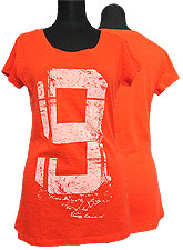 Tops510 No9 Logo T/ Orange