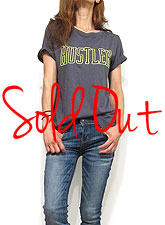 Tops749 Hustler Graphic T/ Charcoal