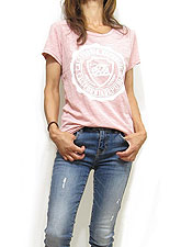 Tops760 California Republic Logo T/Blush